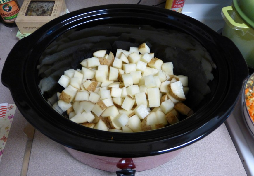 Add potato