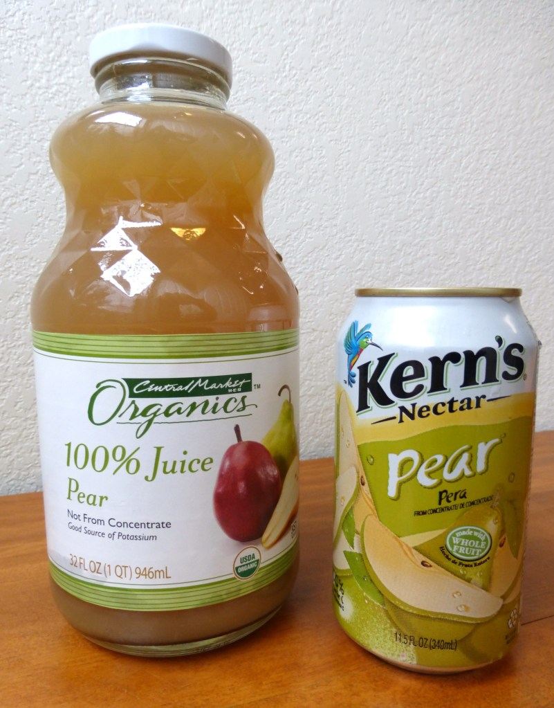 Pear Juice 1