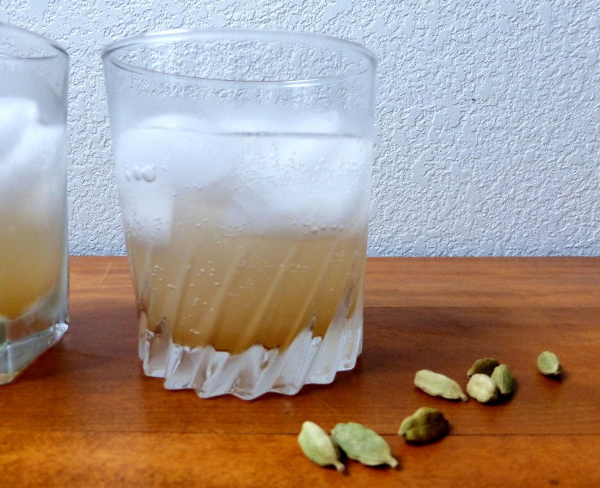 Pear-Cardamom Mocktail