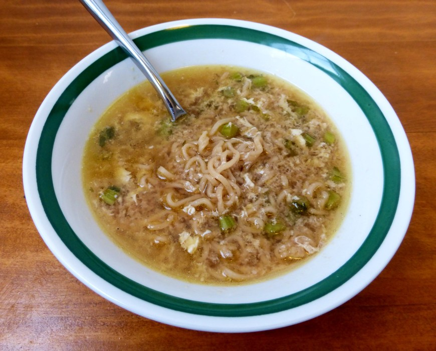Ramen Egg-Drop Soup
