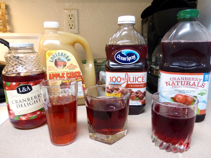 Cranberry Juices