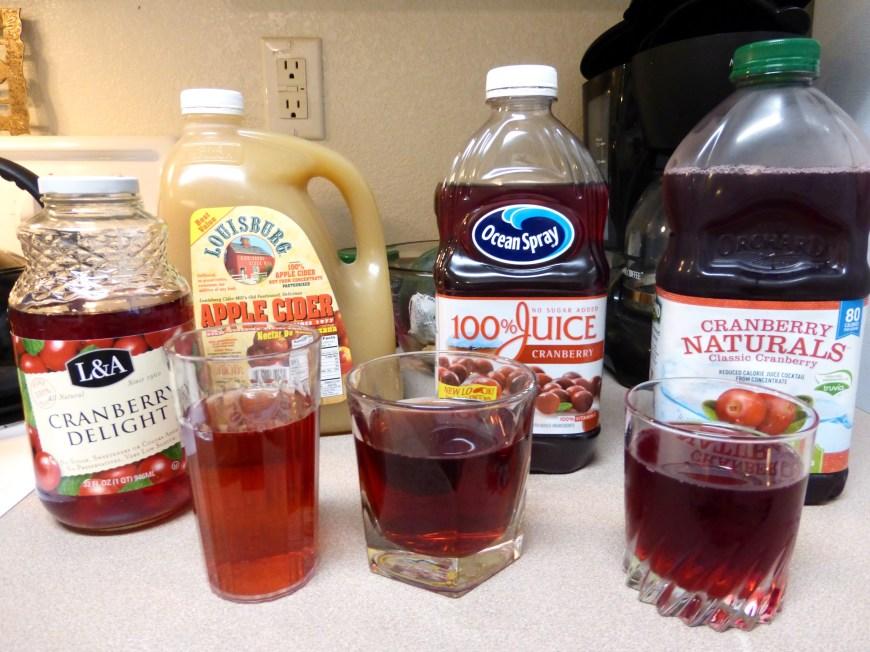 Cranberry Juices